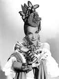The Gang's All Here, Carmen Miranda, 1943 Planscher