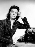 His Girl Friday, Rosalind Russell, 1940 Photo