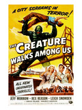 The Creature Walks Among Us, 1956 Reprodukcje