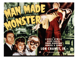 Man Made Monster, Frank Albertson, Anne Nagel, Lionel Atwill, Lon Chaney, Jr., 1941 Photo