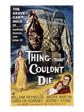 The Thing That Couldn't Die, 1958 Posters