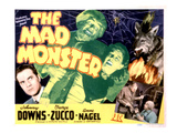 The Mad Monster, Johnny Downs, Glenn Strange, Anne Nagel, George Zucco, 1942 Posters