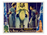 Bride of Frankenstein, Ernest Thesinger, Elsa Lanchester, Colin Clive, 1935 Prints