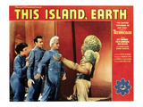 This Island, Earth, From Left: Faith Domergue, Rex Reason, Jeff Morrow, 1955 Posters