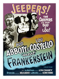 Abbott And Costello Meet Frankenstein, 1948 Julisteet