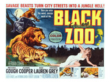 Black Zoo, Middle Right: Michael Gough, 1963 Poster