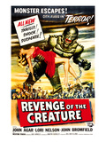 Revenge of the Creature, 1955 Print
