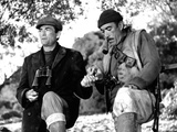 The Guns of Navarone, From Left: Gregory Peck, Anthony Quinn, 1961 Photo