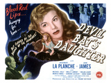 Devil Bat's Daughter, Rosemary La Planche, 1946 Poster