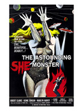 The Astounding She-Monster, 1957 Plakaty