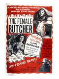 The Female Butcher, 1973 Poster