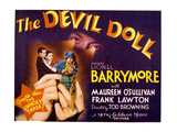 The Devil Doll, Frank Lawton, Maureen O'Sullivan, Jean Alden, 1936 Photo