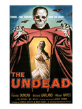 The Undead, Pamela Duncan, 1957 Pósters