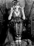 Cleopatra, Theda Bara, 1917 Photo
