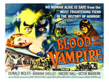 Blood of the Vampire, Barbara Shelley, Donald Wolfit, Victor Maddern, 1958 Posters