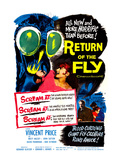 Return of the Fly, Danielle Demetz, Vincent Price, Danielle Demetz, 1959 Posters