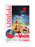 The War of the Worlds, Bottom From Left: Gene Barry, Ann Robinson, 1953 Posters