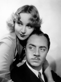 "Carole Lombard, with Costar William Powell in ""My Man Godfrey"" 1936 Print"