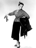 Desk Set, Katharine Hepburn Modeling Outfit, 1957 Photo