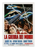 The War of the Worlds (AKA La Guerra Dei Mondi), 1953 Psters