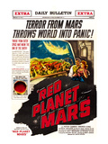 Red Planet Mars, Peter Graves, Andrea King, 1952 Prints