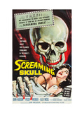 The Screaming Skull, 1958 Posters
