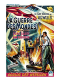 The War of the Worlds (AKA La Guerre Des Mondes), From Left, Ann Robinson, Gene Barry, 1953 Posters
