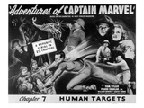 The Adventures of Captain Marvel, Tom Tyler, (Serial), 1941 Print