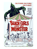 The Beach Girls And the Monster, 1965 - Poster
