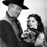 Red River, John Wayne, Joanne Dru, 1948 Photo