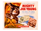 Mighty Joe Young, Terry Moore, 1949 Photo