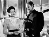 The Ghost and Mrs. Muir, Gene Tierney (Costume Designed by Oleg Cassini), Rex Harrison, 1947 Prints