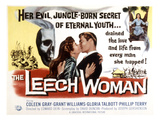 The Leech Woman, Coleen Gray, Grant Williams, 1960 Print