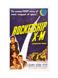 Rocketship X-M, Top: Lloyd Bridges, Bottom Left: Osa Massen, 1950 Photo