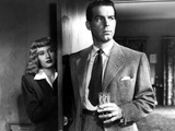 Double Indemnity, Barbara Stanwyck, Fred MacMurray, 1944 Poster