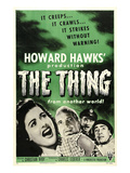 The Thing From Another World, From Left: Margaret Sheridan, Kenneth Tobey, 1951 Print