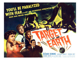 Target Earth, From Left: Kathleen Crowley, Richard Denning, 1954 Print