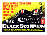 The Black Scorpion, Mara Corday, 1957 Posters
