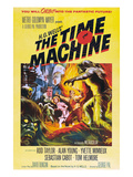 The Time Machine, From Left Center: Yvette Mimieux, Rod Taylor, 1960 Prints