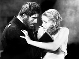 The Old Dark House, Boris Karloff, Gloria Stuart, 1932 Photo