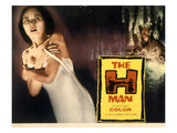 The H-Man, (AKA Bijo to Ekitainingen), Yumi Shirakawa, 1958 Posters