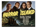 Horror Island, Leo Carrillo, Fuzzy Knight, Peggy Moran, Dick Foran, 1941 Photo