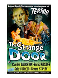 The Strange Door, Charles Laughton, Boris Karloff, Sally Forrest, 1951 Photo