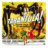 Tarantula!, Bottom From Left: John Agar, Mara Corday, 1955 Prints