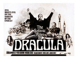 The Satanic Rites of Dracula, Christopher Lee, Peter Cushing, 1973 Posters