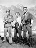 Shane, Alan Ladd, Jean Arthur, Van Heflin, 1953 Poster