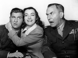 Hail the Conquering Hero, Eddie Bracken, Ella Raines, William Demarest, 1944 Photo