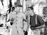The Lost Patrol, Victor McLaglen, Boris Karloff, 1934 Photo