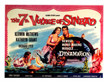 The 7th Voyage of Sinbad, (AKA The Seventh Voyage of Sinbad), Kathryn Grant, Kerwin Mathews, 1958 Affiches