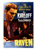The Raven, Boris Karloff, Bela Lugosi, Samuel S. Hinds, 1935 Photo